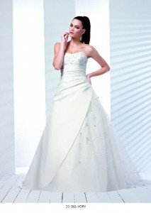 D'zage Bridal Gown D31063-IVORY-1