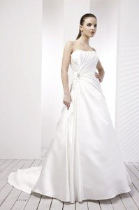 D'zage Cheap Wedding Dress