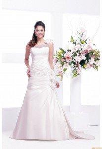 Veromia Wedding Dress VR61107-white