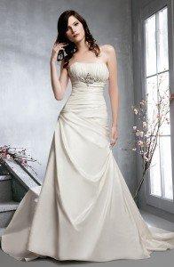 Veromia Wedding Dress VR6978-white