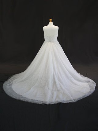 Snowflake wedding dress