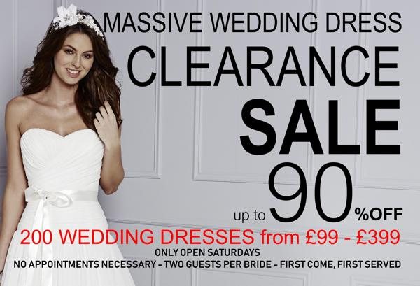 Massive Wedding Dress Sale Copplestones Bridal