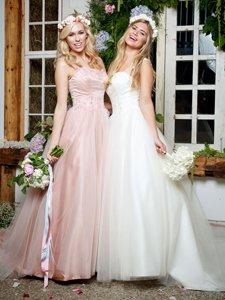 Amanda Wyatt Mistie Copplestones Bridal pink wedding dress