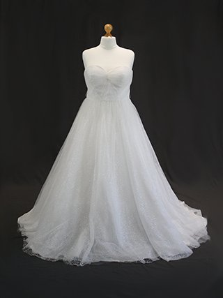 Snowflake wedding dress