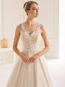 Dakota Bianco Evento  Copplestones Bridal