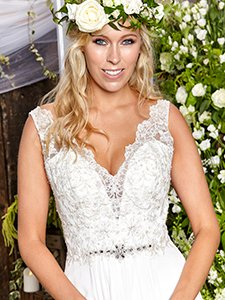 Amanda Wyatt 'Dahlia' at Copplestones bridal