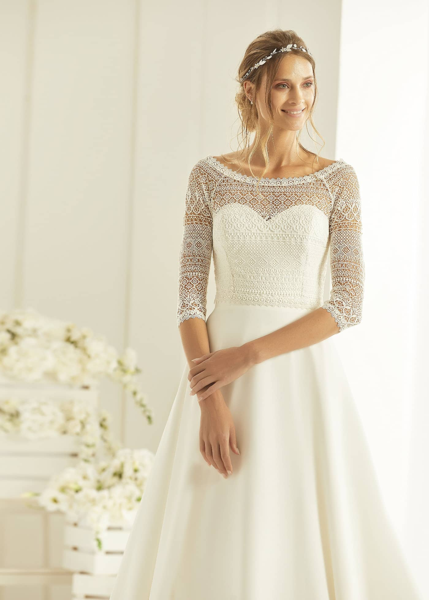 Harmonia Wedding dress at Copplestones Bridal